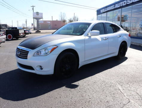 2011 Infiniti M37 for sale at Williams Auto Sales, LLC in Cookeville TN