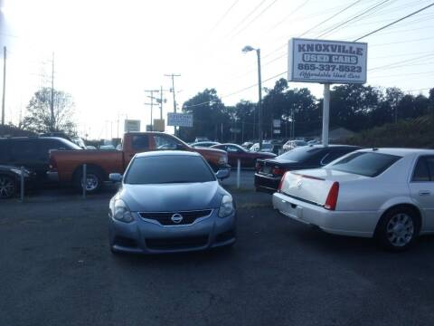 2012 Nissan Altima for sale at Knoxville Used Cars in Knoxville TN