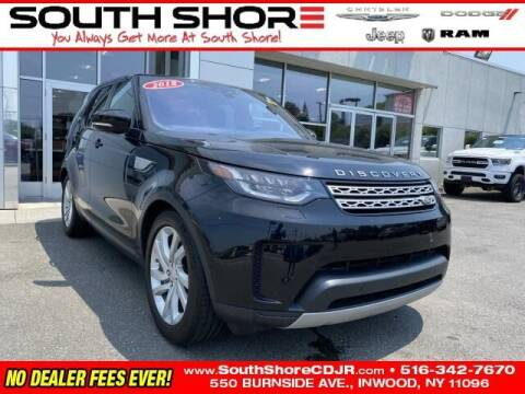 2018 Land Rover Discovery for sale at South Shore Chrysler Dodge Jeep Ram in Inwood NY
