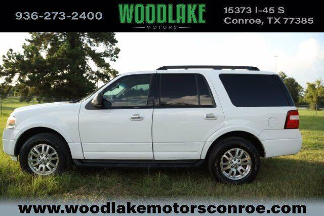 2013 Ford Expedition for sale at WOODLAKE MOTORS in Conroe TX