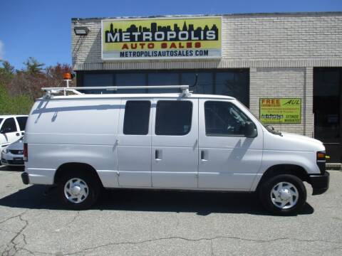 2013 Ford E-Series Cargo for sale at Metropolis Auto Sales in Pelham NH