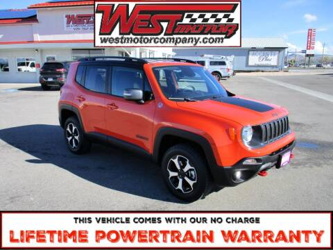 2019 Jeep Renegade for sale at West Motor Company in Hyde Park UT