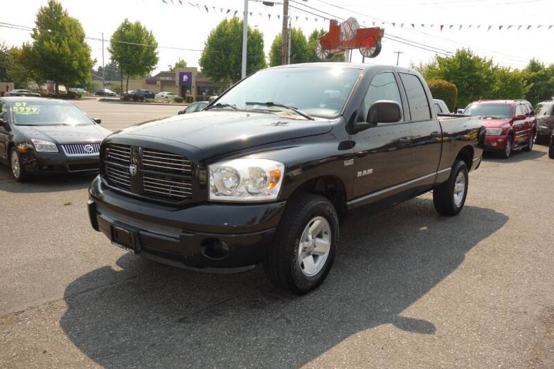 2008 Dodge Ram Pickup 1500 for sale at Leavitt Auto Sales and Used Car City in Everett WA
