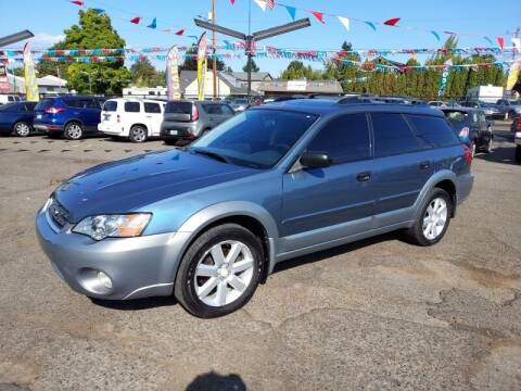 2006 Subaru Outback for sale at Cars & Trailers in Portland OR