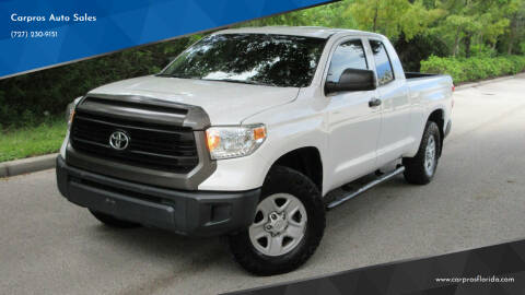2015 Toyota Tundra for sale at Carpros Auto Sales in Largo FL