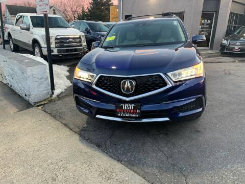 2017 Acura MDX for sale at H & H Motors 2 LLC in Baltimore MD
