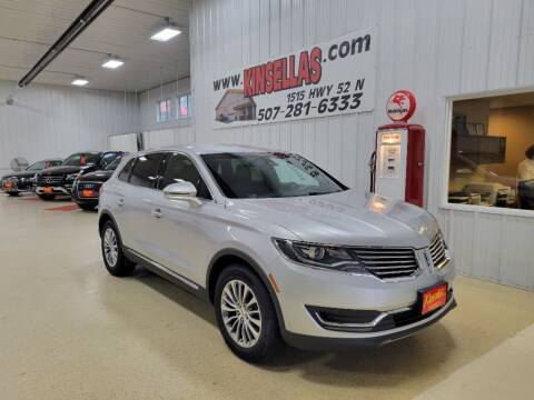 2016 Lincoln MKX for sale at Kinsellas Auto Sales in Rochester MN
