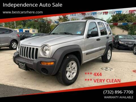 2004 Jeep Liberty for sale at Independence Auto Sale in Bordentown NJ