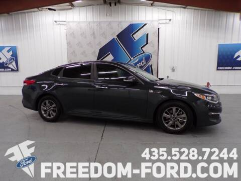 2016 Kia Optima for sale at Freedom Ford Inc in Gunnison UT