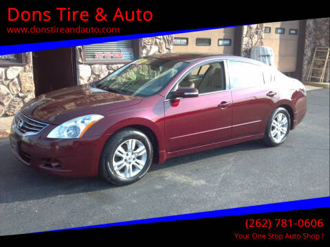 2010 Nissan Altima for sale at Dons Tire & Auto in Butler WI