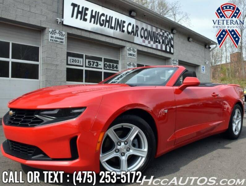 2020 Chevrolet Camaro for sale at The Highline Car Connection in Waterbury CT