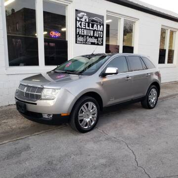 2008 Lincoln MKX for sale at Kellam Premium Auto Sales & Detailing LLC in Loudon TN