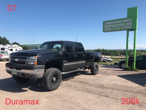 2007 Chevrolet Silverado 2500HD Classic for sale at Independent Auto in Belle Fourche SD