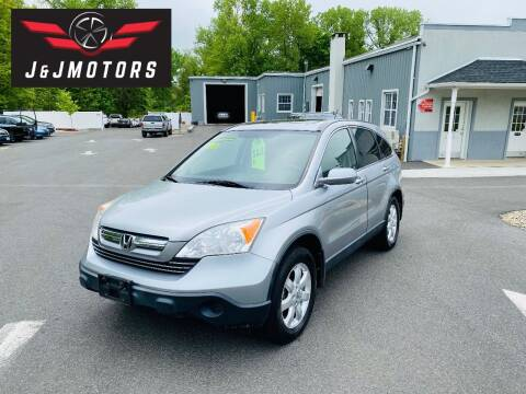 2008 Honda CR-V for sale at J & J MOTORS in New Milford CT