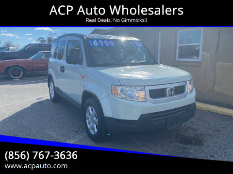 2011 Honda Element for sale at ACP Auto Wholesalers in Berlin NJ