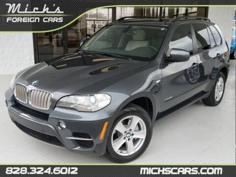 2012 BMW X5 for sale at Mich's Foreign Cars in Hickory NC