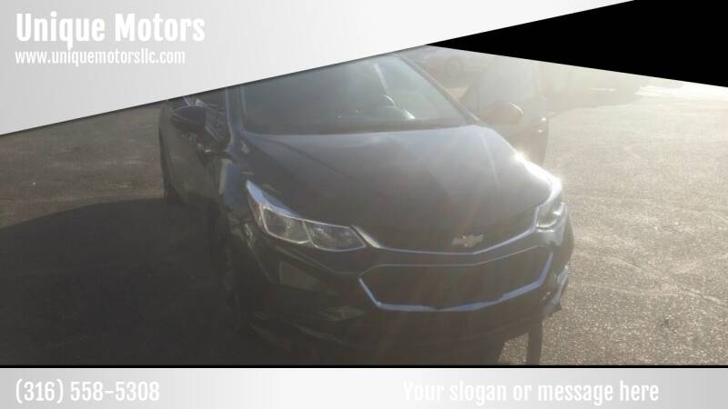 2017 Chevrolet Cruze for sale at Unique Motors in Wichita KS