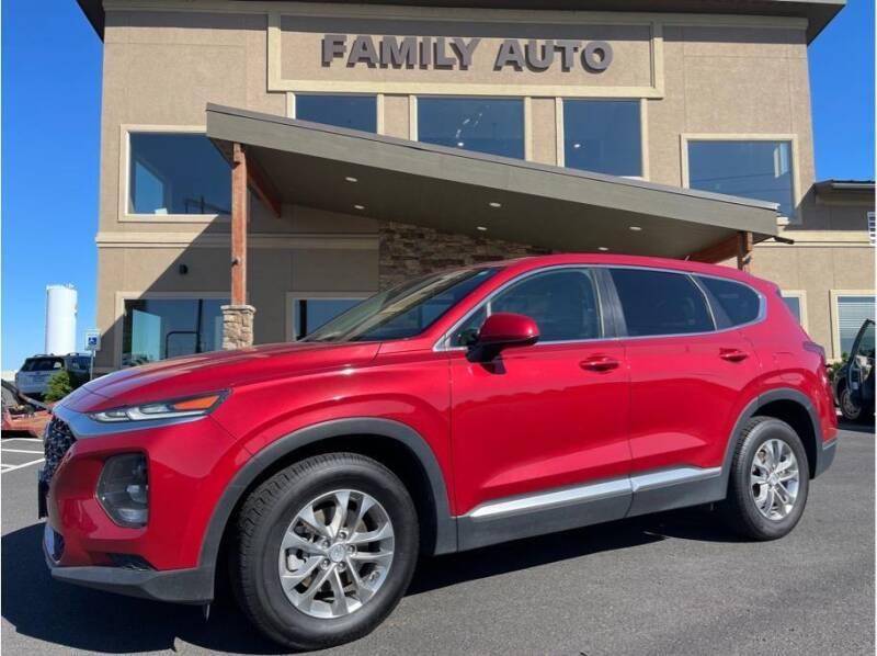 2019 Hyundai Santa Fe for sale at Moses Lake Family Auto Center in Moses Lake WA