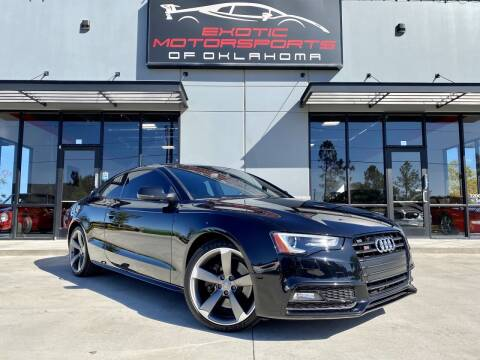 2014 Audi S5 for sale at Exotic Motorsports of Oklahoma in Edmond OK