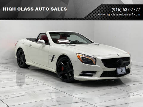 2015 Mercedes-Benz SL-Class for sale at HIGH CLASS AUTO SALES in Rancho Cordova CA