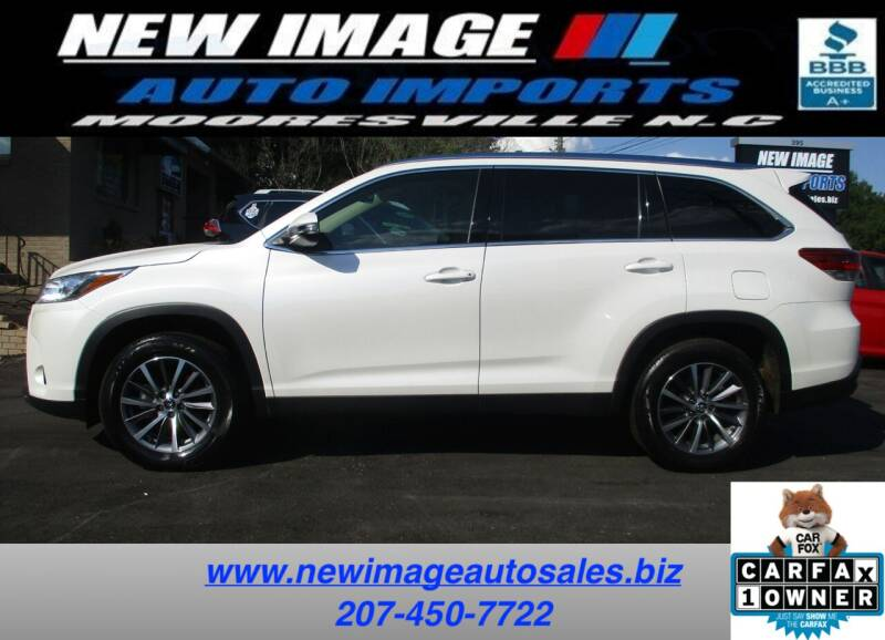 2019 Toyota Highlander for sale at New Image Auto Imports Inc in Mooresville NC