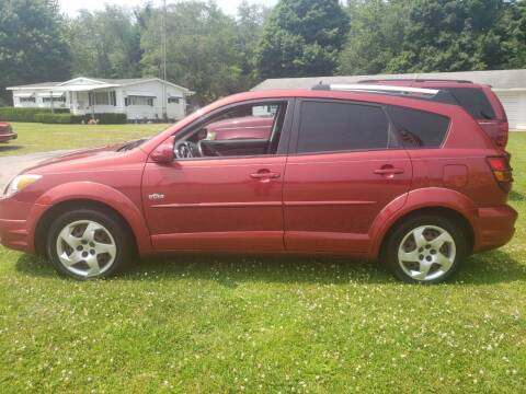 2005 Pontiac Vibe for sale at Larrys Used Cars in Hartford MI