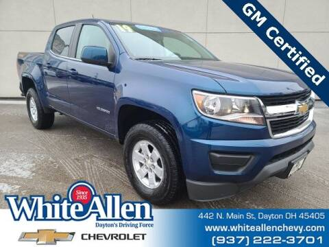 2019 Chevrolet Colorado for sale at WHITE-ALLEN CHEVROLET in Dayton OH