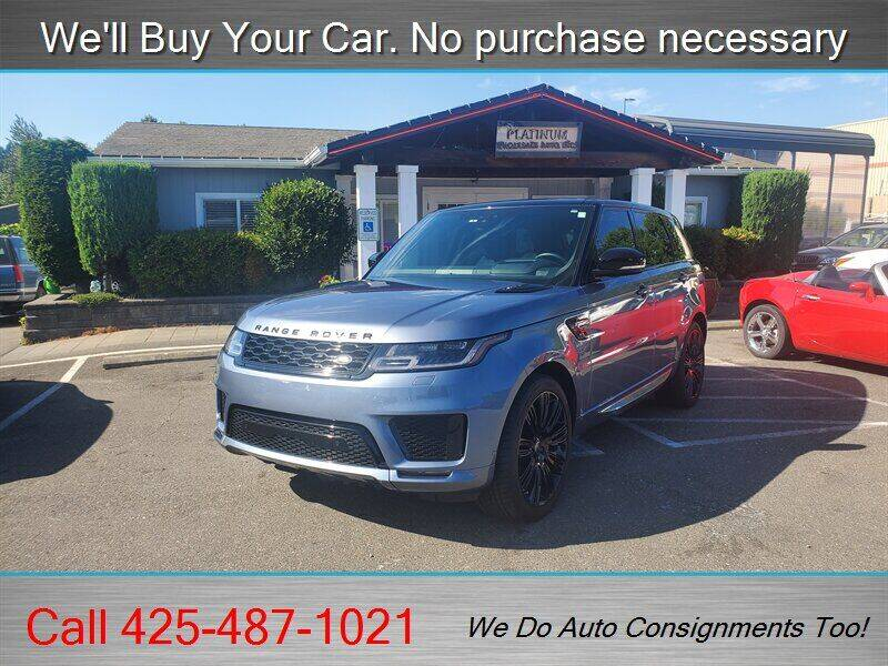 2018 Land Rover Range Rover Sport for sale at Platinum Autos in Woodinville WA
