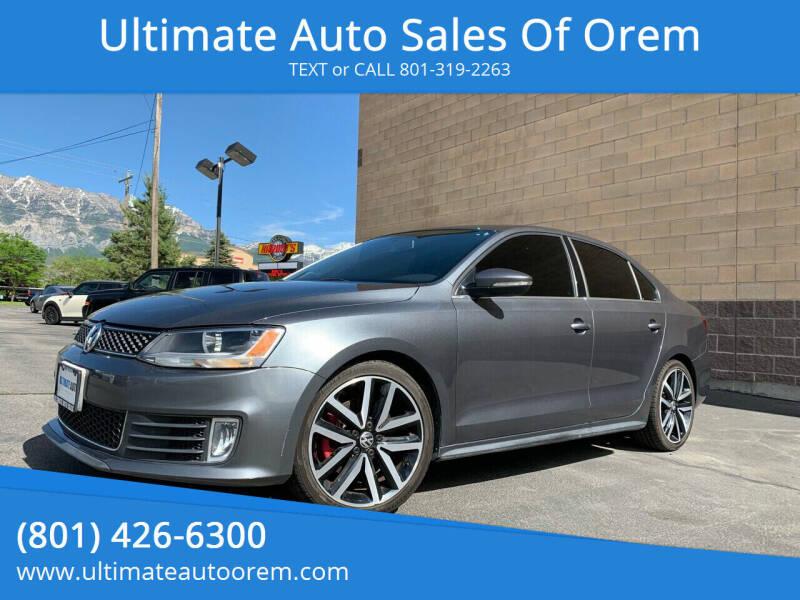 2014 Volkswagen Jetta for sale at Ultimate Auto Sales Of Orem in Orem UT