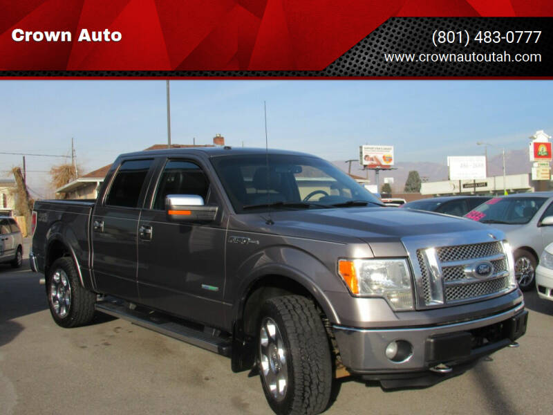 2012 Ford F-150 for sale at Crown Auto in South Salt Lake City UT
