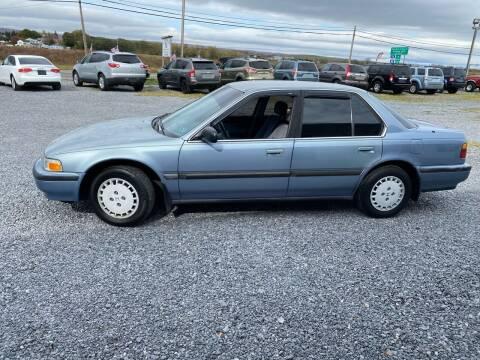 1990 Honda Accord for sale at Tri-Star Motors Inc in Martinsburg WV