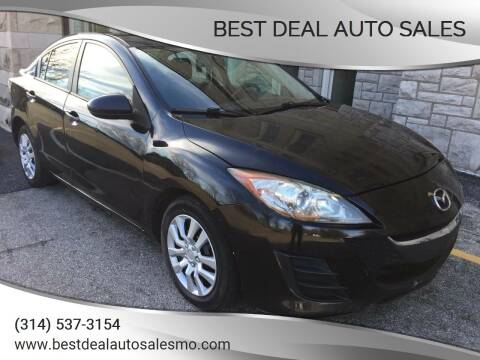 2010 Mazda MAZDA3 for sale at Best Deal Auto Sales in Saint Charles MO