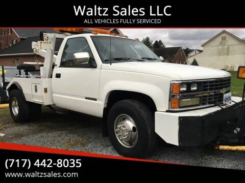 1989 Chevrolet C/K 3500 Series for sale at Waltz Sales LLC in Gap PA