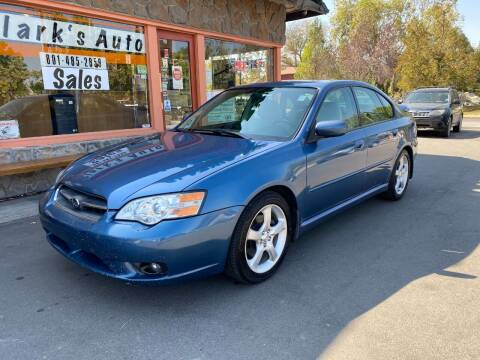 2007 Subaru Legacy for sale at Clarks Auto Sales in Salt Lake City UT