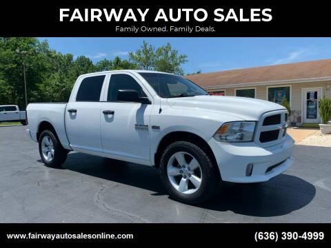 2016 RAM Ram Pickup 1500 for sale at FAIRWAY AUTO SALES in Washington MO