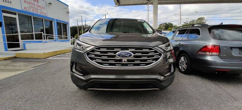 2019 Ford Edge for sale at Max Auto Sales in Sanford FL