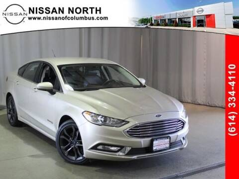 2018 Ford Fusion Hybrid for sale at Auto Center of Columbus in Columbus OH