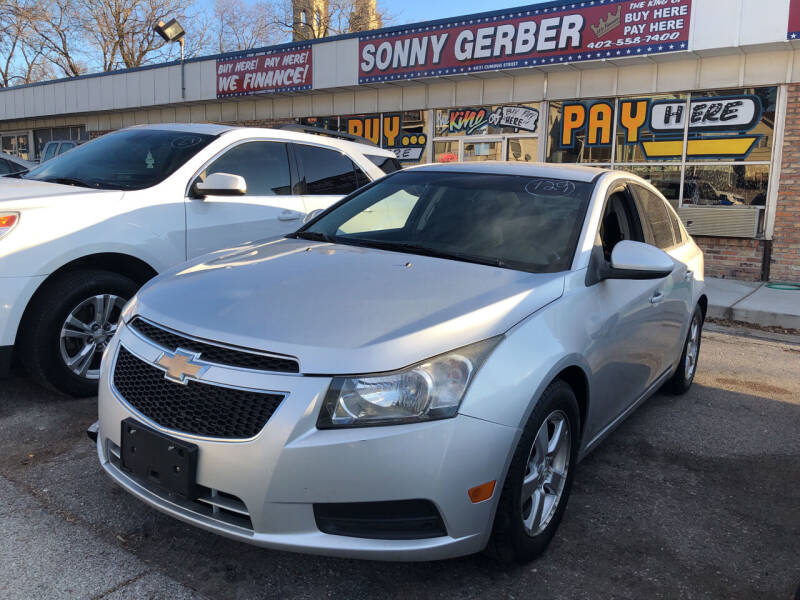 2012 Chevrolet Cruze for sale at Sonny Gerber Auto Sales in Omaha NE