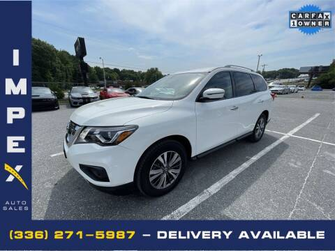 2019 Nissan Pathfinder for sale at Impex Auto Sales in Greensboro NC