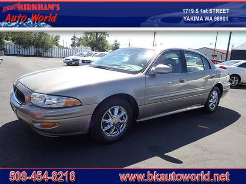 2003 Buick LeSabre for sale at Bruce Kirkham Auto World in Yakima WA