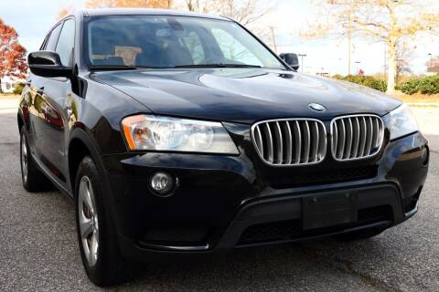 2012 BMW X3 for sale at Prime Auto Sales LLC in Virginia Beach VA