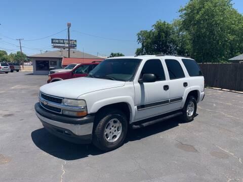 2005 Chevrolet Tahoe for sale at Elliott Autos in Killeen TX