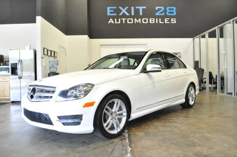 2013 Mercedes-Benz C-Class for sale at Exit 28 Auto Center LLC in Cornelius NC