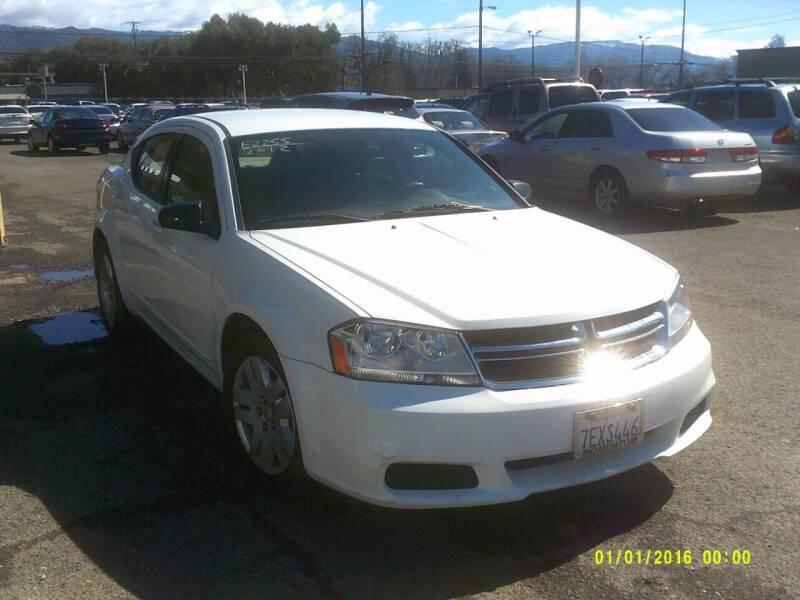 2012 Dodge Avenger for sale at Mendocino Auto Auction in Ukiah CA