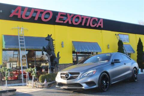 2014 Mercedes-Benz E-Class for sale at Auto Exotica in Red Bank NJ