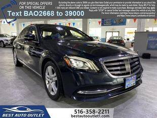 2018 Mercedes-Benz S-Class for sale at Best Auto Outlet in Floral Park NY