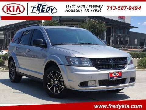 2017 Dodge Journey for sale at FREDY KIA USED CARS in Houston TX