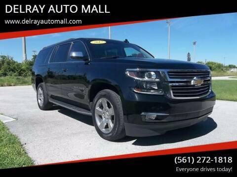 2017 Chevrolet Suburban for sale at DELRAY AUTO MALL in Delray Beach FL