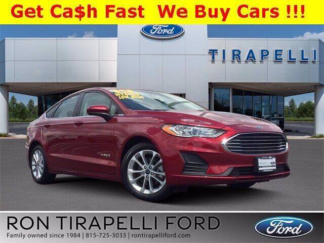 2019 Ford Fusion Hybrid for sale in Shorewood, IL