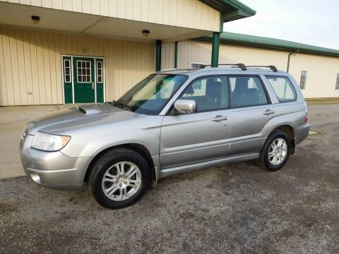 2006 Subaru Forester for sale at WESTERN RESERVE AUTO SALES in Beloit OH